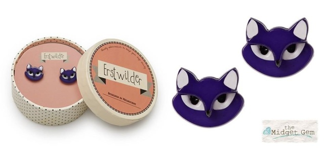 Erstwilder_Carla_Cat_Earrings_Purple_Boxtouse
